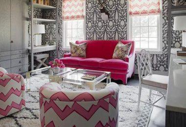 pembe gri ev dekorasyon önerileri 2016
