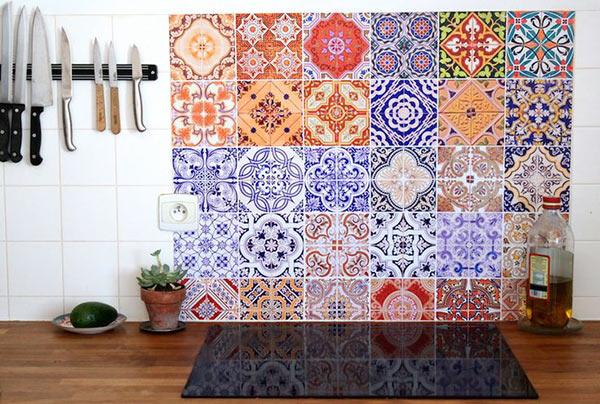 Ini Desenli Mutfak Dekorasyonu 2016 Dekorblog