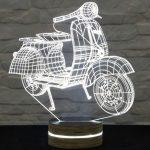 3 boyulu led motorsiklet gece lambası 2016
