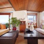 ahşap tavanlı dağ evi dekorasyonu 2016