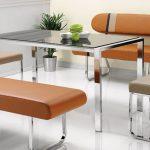 almoda mobilya banklı mutfak masası modeli 2016