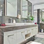çarpıcı mermer banyo dekorasyon fikirleri 2016