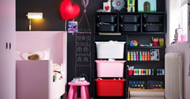 çocuk odalarında kara tahta dekorasyonu nasıl yapılır