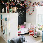 çocuk odası kara tahta duvar boyası