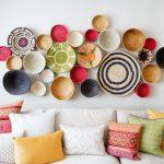 dekoratif objeler ile salon duvar dekorasyonu 2016