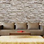 doğal taş görünümlü duvar kağıdı modelleri 2016
