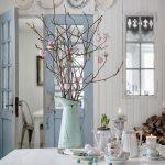 doğal ve rahat  vintage mutfak dekorasyonu