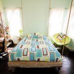 eğlenceli asma yatak dekorasyon fikirleri