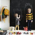 eğlenceli kara tahta dekorasyonları