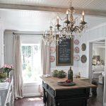 fransız tarzı country vintage mutfak dekorasyonu