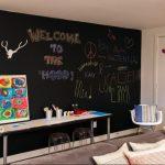 kara tahta çocuk odası duvar dekorasyonu