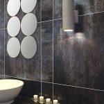 metal görünümlü banyo fayansları 2016