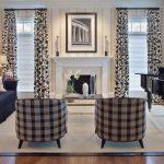 oval ekose desenli koltuk tasarımları