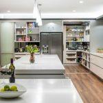 beyaz ankastre modern mutfak dekorasyonu