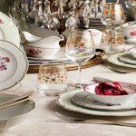 Calante 102 Parça Premıum Porselen Yemek Takımı