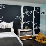 çocuk odaları için ağaçlı duvar kağıtları 2016