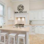 country tarzı beyaz mutfak dekorasyonu 2016