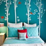 dekoratif ağaç temalı duvar dekorasyon fikirleri