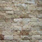 dekoratif duvar mozaiği traverten