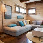 doğal ve samimi wooden iç mekan dekorasyonu