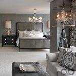 elegan yatak odası dekorasyonu 2016