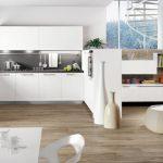 estetik ankastre beyaz mutfak dekorasyonu