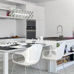 estetik beyaz mutfak dekorasyonu 2016