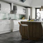 modern ve estetik beyaz mutfak modeli 2016