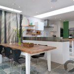 orman temalı mutfak duvar dekorasyonu 2016