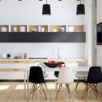 rahat ve modern iskandinav stili salon dekorasyon