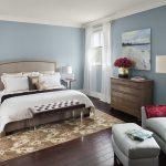 rahat ve sakin yatak odası dekorasyonu