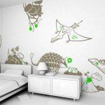 sevimli dinazorlar duvar sticker modelleri 2016