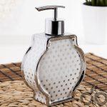 şık tasarım seramik sıvı sabunluk