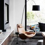 siyah modern sarkıt lambader 2016