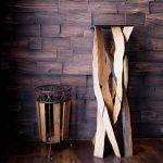 Wood Barbados Gastar ahşap dokulu duvar kaplaması