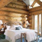 yatak odasında doğallık arayanlara wooden dekorasyon tarzı