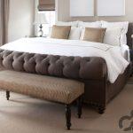 klasik yatak ucu puf sehpa