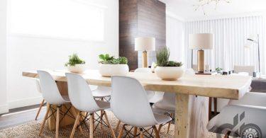 masif ahşap yemek masası