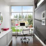 modern ev ofis dekorasyon örneği