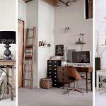 vintage home ofis dekorasyon örnekleri