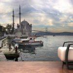 3 boyutlu istanbul ortaköy manzarası