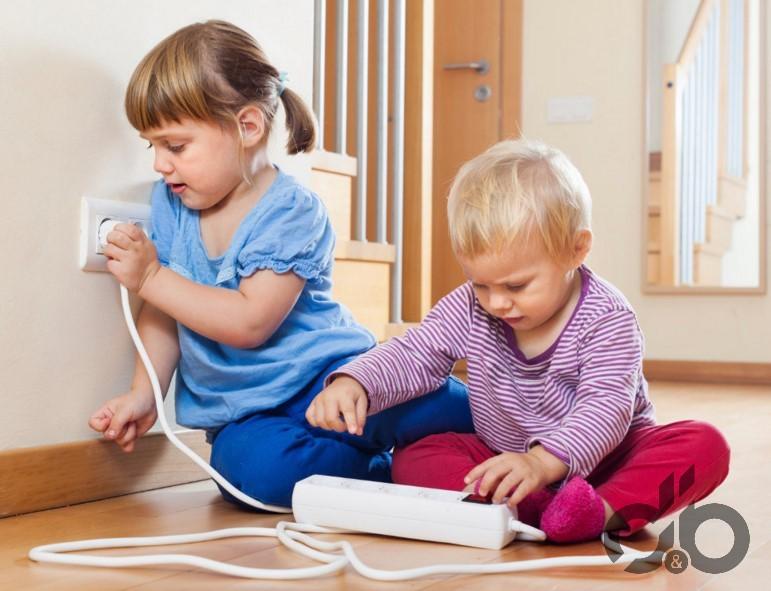 çocuklar için güvenli ev dekorasyon fikirleri
