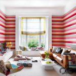 enerji veren çizgili duvar kağıtları