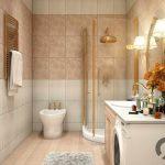 modern küçük banyo dekorasyonu
