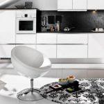 modern yuvarlak mutfak halı modelleri