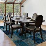 yemek odası için patchwork halı