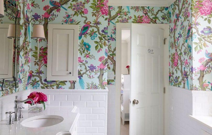 banyo duvar kağıdı modelleri 2016