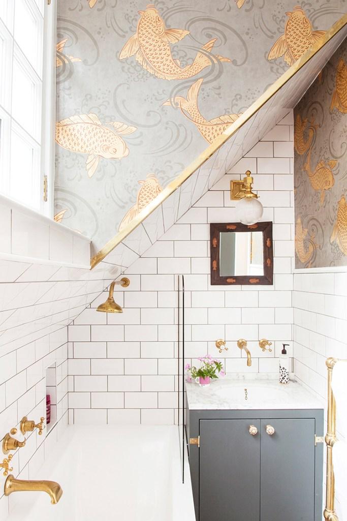 Banyo Duvar Kağıdı Modeli