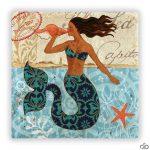 deniz kızı doğal taş tablo 2016