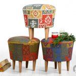 Lorencehome dekoratif desenli puf modelleri
